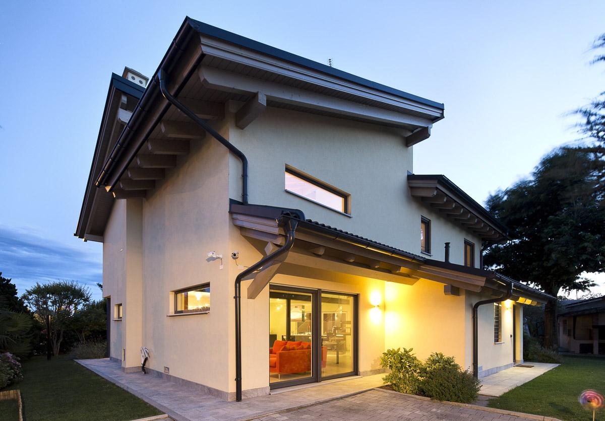 corbetta villa prefabbricata in legno architetti serati
